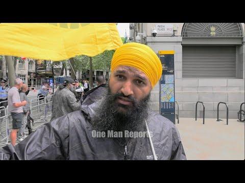Gurcharan Singh on his recent arrest alongside Piers Corbyn.