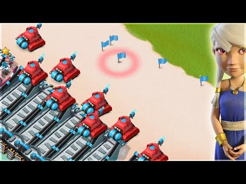 Boom Beach All Scorcher Madness!! All Scorcher Gameplay