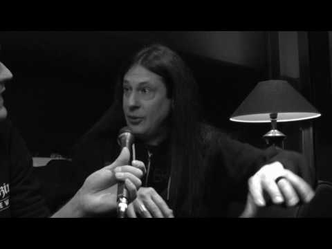 Dream Theater Interview with Mike Mangini @ Helsinki, Finland 27.2.2017