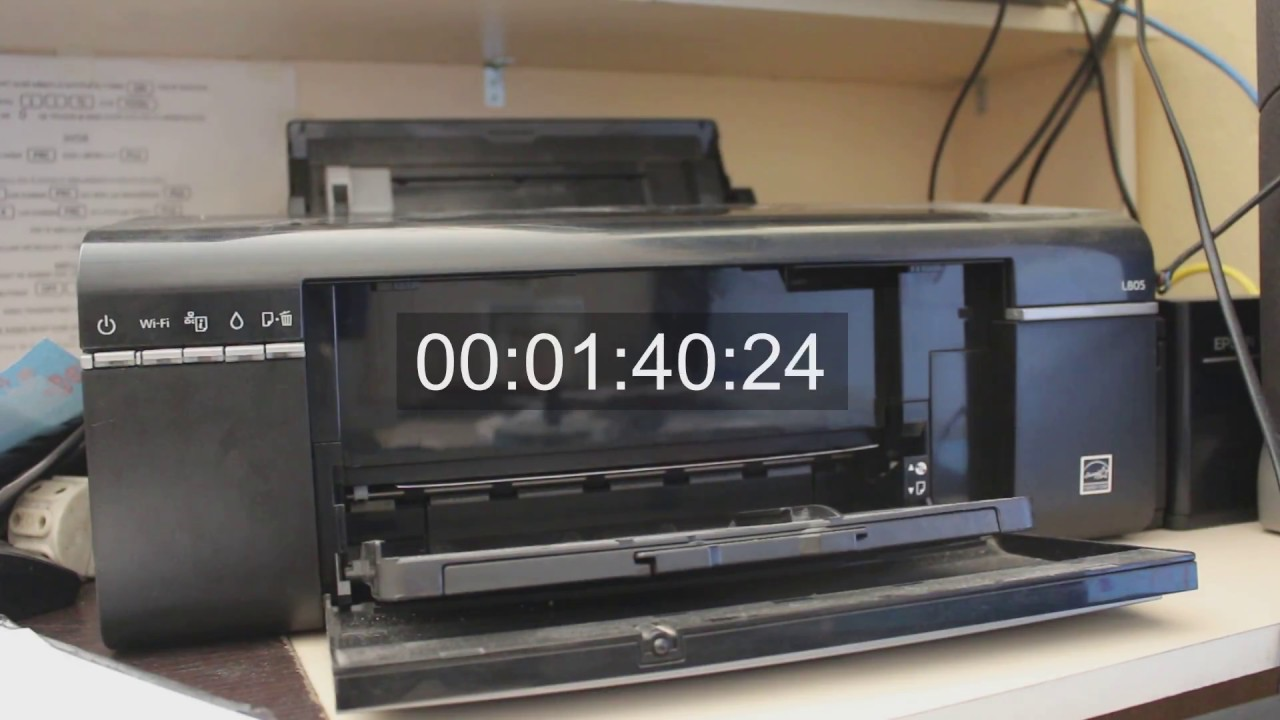 EPSON L805 Full Size Printing