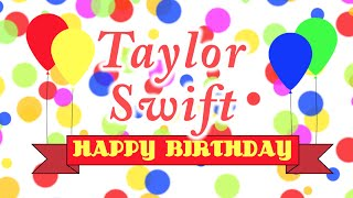 Happy Birthday Taylor Swift Song