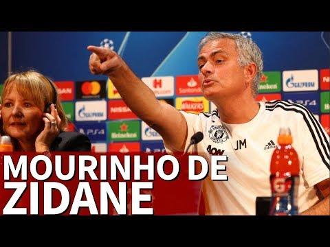 Mourinho, sobre Zidane: 'Pregúntale a quien lo escribió, le tienes detrás' | Diario AS