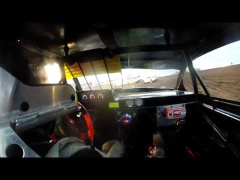 5-14-16 Boone Speedway Stock Car Heat In-Car