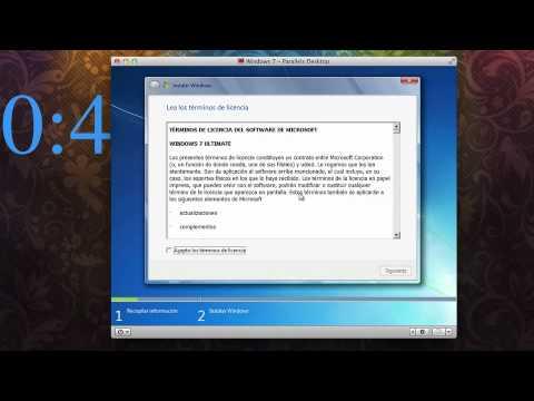 como instalar windows 7 en mac