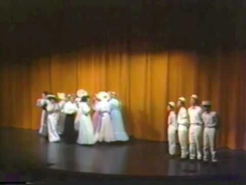 Seven Days of Broadway (Summer 1989) - Music Man - Barbershop Quartet Highlights