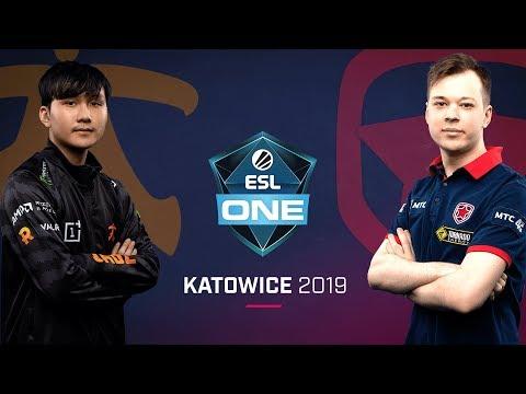 Fnatic vs Gambit - ESL One Katowice 2019 - Game 2