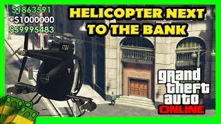Have A Helicopter Next To The Bank Every Time In The Pacific Standard Heist Glitch in GTA 5 Online