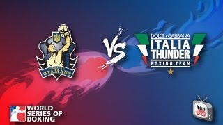 Ukraine Otamans vs. Dolce & Gabbana Italia Thunder - Week 8 - WSB Season 3(Regular Season - WSB 2012/2013 (Season 3) Ukraine Otamans vs. Dolce & Gabbana Italia Thunder 08 Feb 2013 Subscribe to WSB for boxing highlights, live ..., 2013-02-09T00:41:45.000Z)