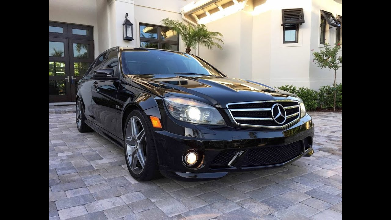2010 mercedes benz c63 amg sedan for sale by auto europa naples youtube. Black Bedroom Furniture Sets. Home Design Ideas