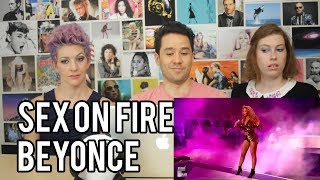 Video BEYONCE - Sex on Fire - The Beautiful Ones - Live Glastonbury REACTION!! download MP3, 3GP, MP4, WEBM, AVI, FLV Juli 2018