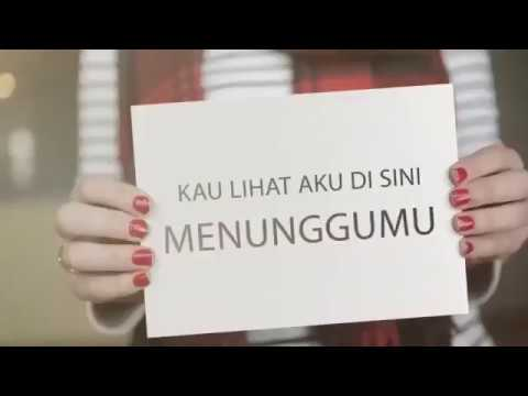 Kau Lihat Aku Disini Menunggumu | Official lyrics Video