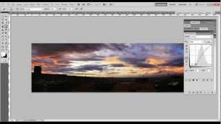 Как сделать панораму в фотошопе(Видео урок о том, как сделать панораму в фотошопе, а также немного о коррекции изображения неба и рассвета/з..., 2012-03-10T16:37:02.000Z)