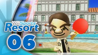 Wii Sports Resort: Part 06 | Table Tennis (4-Player)
