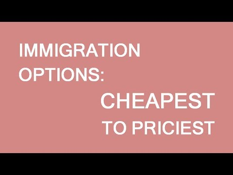 The Cheapest To The Most Expensive Canadian Immigration Options. LP Group