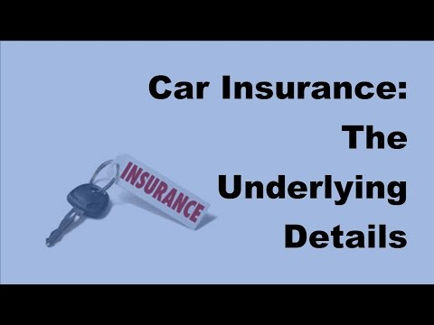 2017 Car Insurance  | The Underlying Details