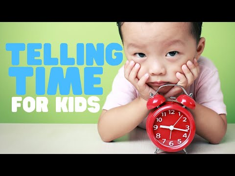 Telling Time For Kids | Learn To Tell Time On Both Analog And Digital Clocks