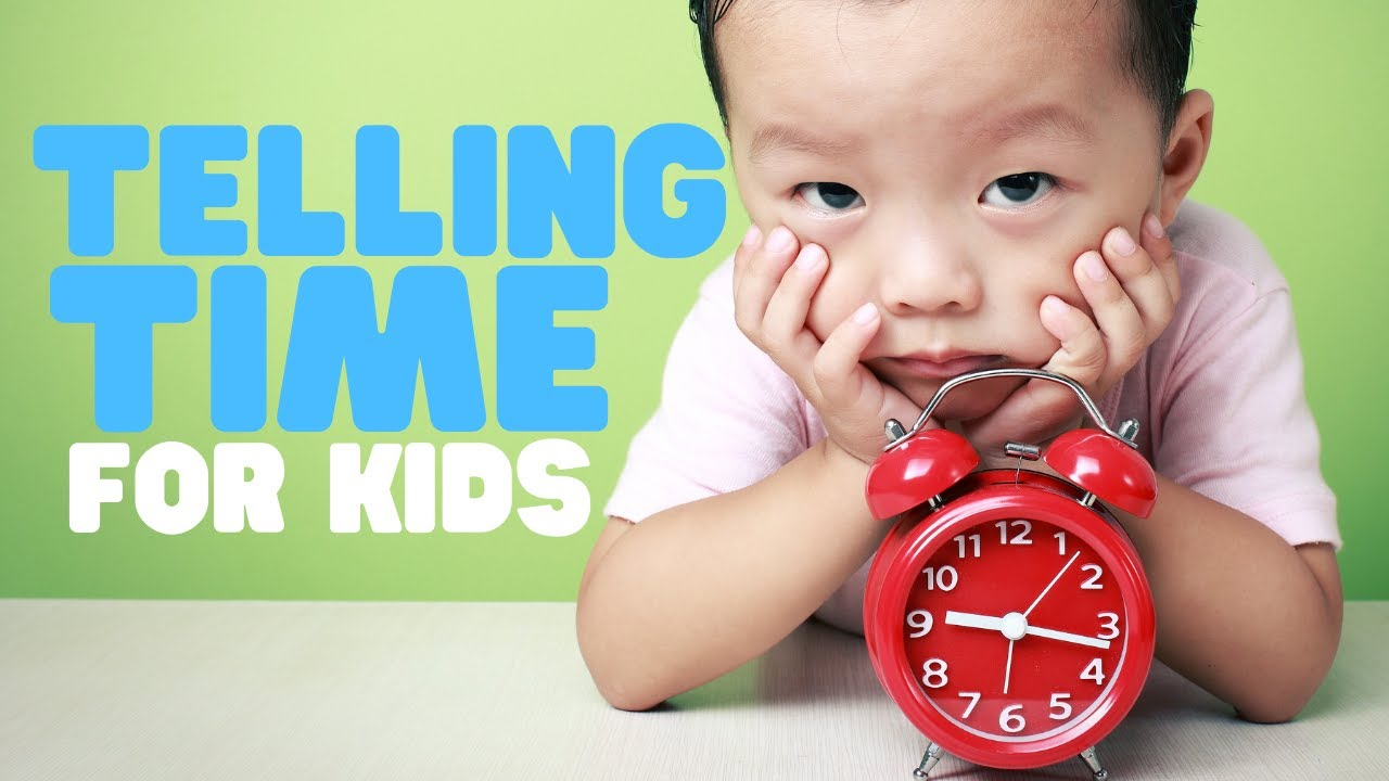 hight resolution of Telling Time for Kids   Learn to tell time on both Analog and Digital  Clocks - YouTube