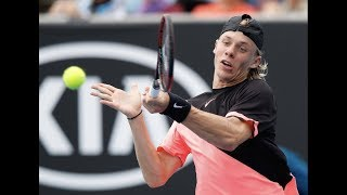 Shapovalov vs  Tsitsipas   Australian Open 2018 R1 Highlights HD