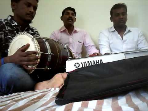 Telugu song playing keyboard and Dholak
