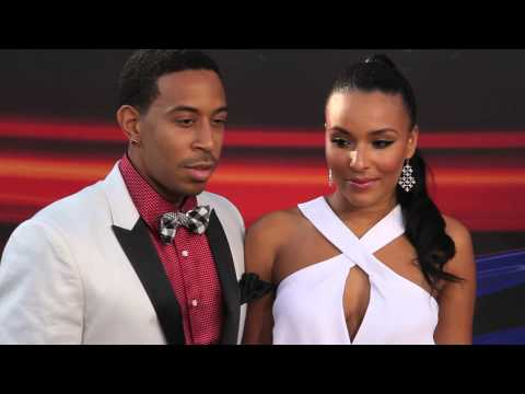 Ludacris & his gorgeous THICK girlfriend Eudoxie Agnan on the Fast & Furious 6 Red Carpet