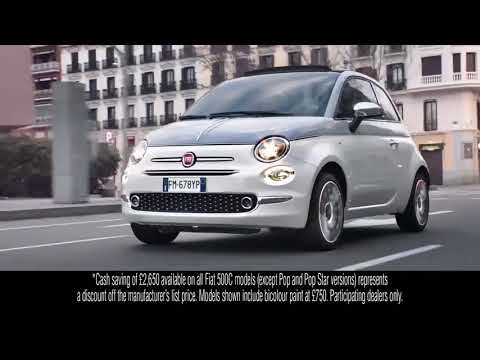 The All New Fiat 500 Collezione - Advert