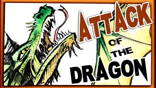 Attack of the DRAGON! - Speed Painting