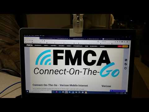 FMCA Connect On The Go Verizon Mobile Internet Real World Review After 6 Months