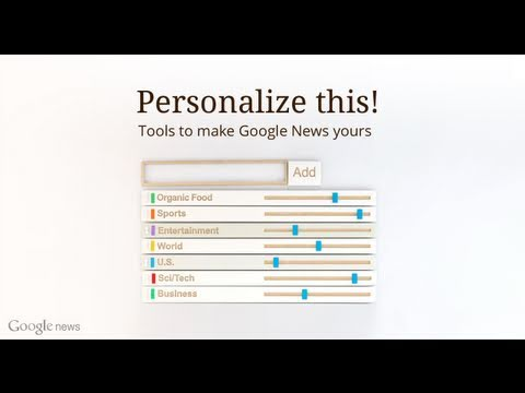 Google News - Search and personalize the world's news