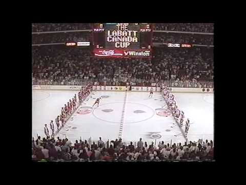 9/7/91 USA vs USSR National Anthems