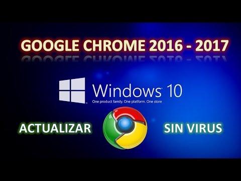 Como Descargar E Instalar Google Chrome 2017 I Ultima Version Para Windows 10 8 8 1 7 Xp From ...