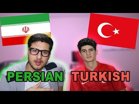 LANGUAGE CHALLENGE!!! *Persian Vs Turkish*
