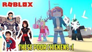 Roblox: ¡POLLOS DE BOOPING! ¡HUEVOS DE INGESTA! ¿QUÉ ES ESTE EXTRAÑO JUEGO