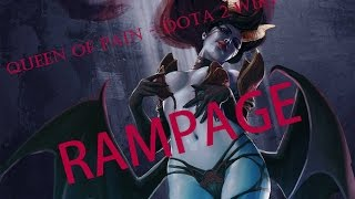 Queen of Pain - Dota 2 TOP MMR 6000+ | RAMPAGE