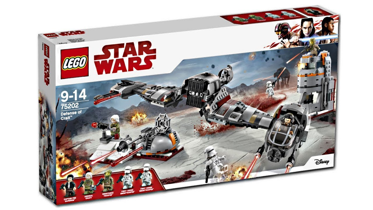 LEGO Star Wars 2018 sets pictures! - YouTube
