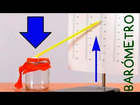 Cómo Hacer un Sencillo Barómetro. DIY
