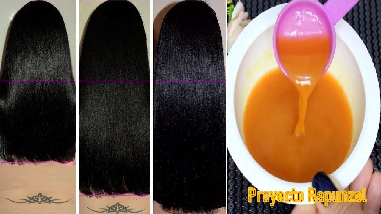 💖👉Prueba esto para obtener cabello largo y grueso, detener la caída y un crecimiento más rápido!