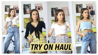 MASSIVE TRY ON HAUL / SPRING + SUMMER 2018! Missguided, Topshop, Bershka & MORE! Lovevie