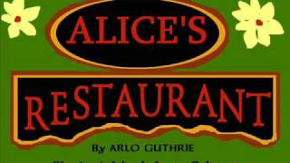 Alice's Restaurant Illustrated (part 1)