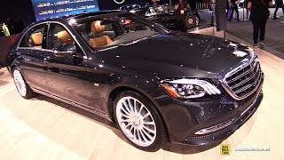 2019 Mercedes S560 Concours S - Exterior and Interior Walkaround - 2018 LA Auto Show