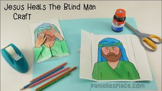 Jesus Heals the Blind Man Craft