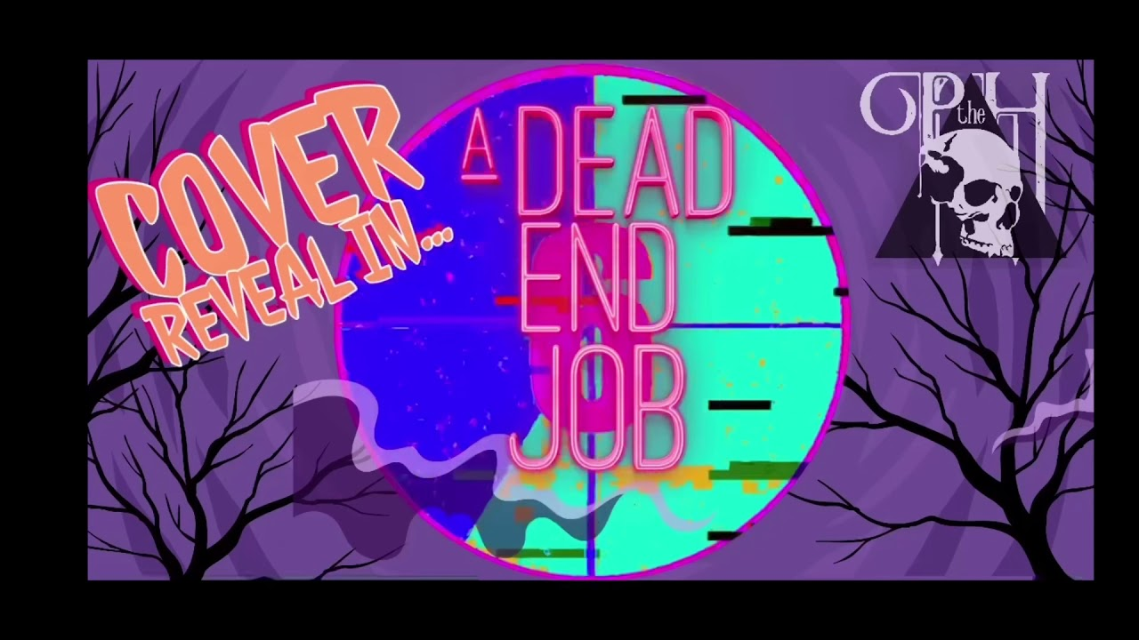 "Justin Alcala's ""A Dead End Job"" Cover Revealed"