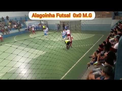 Alagoinha Futsal 2x2 M.G. 1° Tempo. Campeonato Regional Alagoinha.PE de Futsal 2019