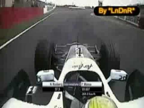 Nico Rosberg on board British Grand Prix