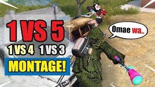 Nasty Kills! ROS: 1 VS 5 | 1 VS 4 | 1 VS 3 | Insane Kill Montage! #2