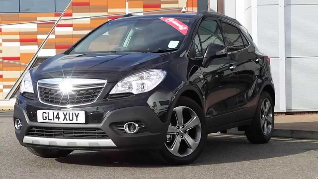 2014 14 Plate Vauxhall Mokka 14 16V Turbo SE 5DR AUTO In Black