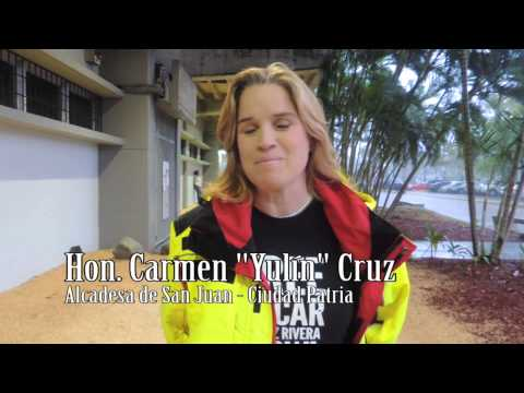 Hon. Carmen Yulin Cruz  Alcaldesa de San Juan Ciudad Patria