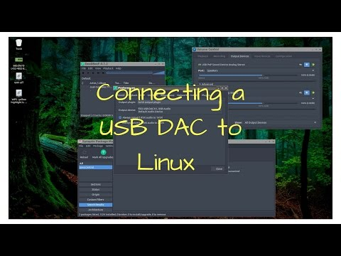 Connecting a USB DAC to Linux
