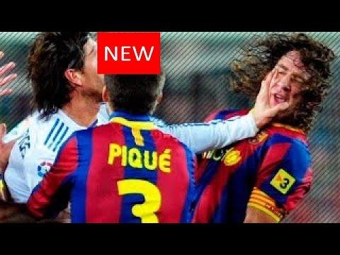El Clasico: Real Madrid Vs Barcelona • Fights, Fouls, Dives U0026 Red Cards | HD