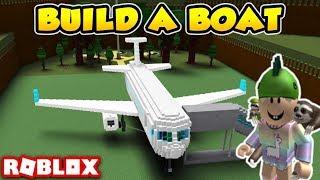 BUILDING A PLANE!! -Boat Simulator #3 (English Roblox)