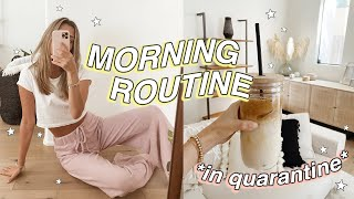 MORNING ROUTINE in *quarantine* lol